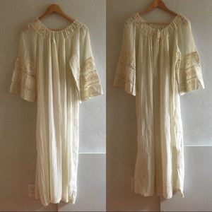 1960s Vintage Christian Dior Lace Nightgown